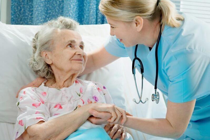 пролежні у лежачих хворих